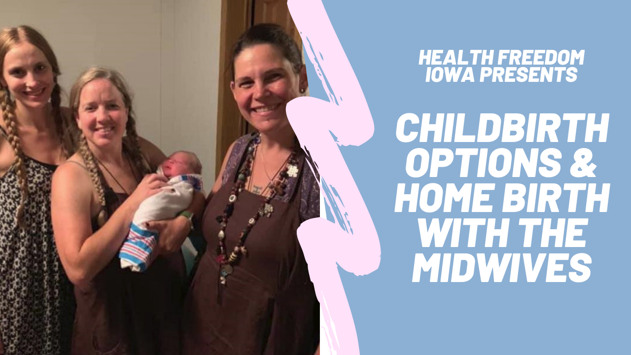 Joni and the Midwives Discuss Birthing Options and Home Birth