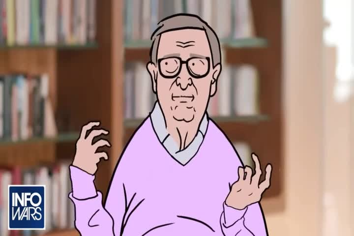 Scooby Doo parody - Bill Gates - COVID-19 - vaccination fallout - the endgame is here -banned.video - infowars.com
