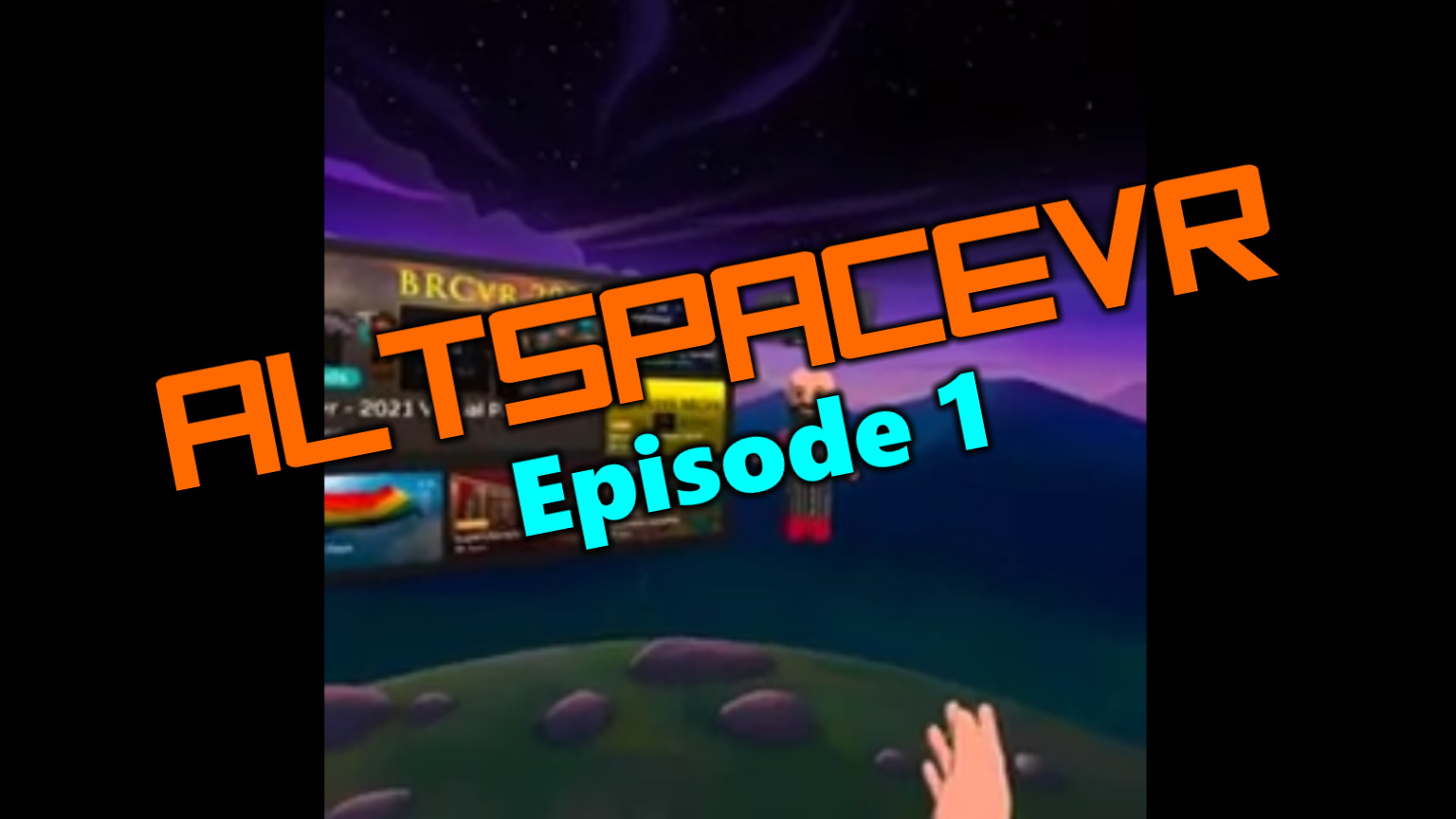 Travel with me to AltspaceVR episode 1