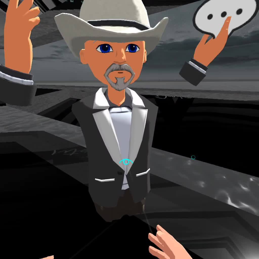 Travel with me to AltspaceVR episode 3: A Black and white Party